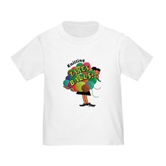 Knitting Takes Balls Toddler T-Shirt