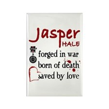 Jasper: Saved by Love Rectangle Magnet