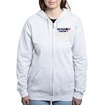 Bush Cheney Logo Women's Zip Hoodie