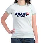 Bush Cheney Logo Jr. Ringer T-Shirt
