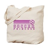 Soccer Princess Tote Bag