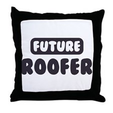 Future Roofer Throw Pillow