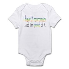 I have 2 mommies...and I'm pr Infant Bodysuit