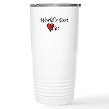 World's Best Vet - Travel Mug