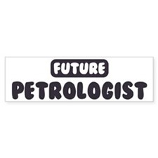 Future Petrologist Bumper Sticker (50 pk)