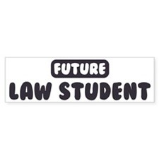 Future Law Student Bumper Sticker (10 pk)
