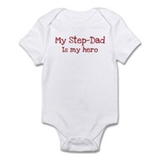 Step-Dad is my hero Infant Bodysuit
