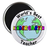 Best Kindergarten Teacher Magnet