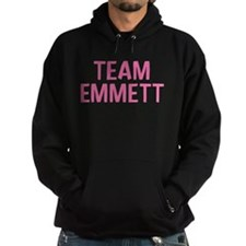 Team Emmett (Light Pink) Hoodie