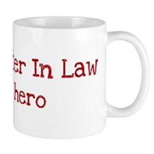 Daughter In Law is my hero Mug