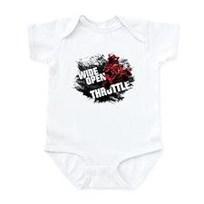WIDE OPEN THROTTLE Infant Bodysuit