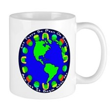 Let There Be Peas On Earth... Mug
