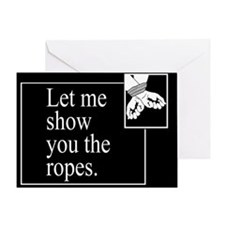 Ropes Greeting Card