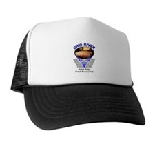 Cute Kayak sunrise Trucker Hat