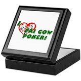 Pai Gow Poker Keepsake Box