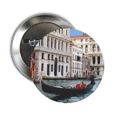 "Venice Gondola original photo - 2.25"" Button (100"