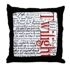 Movie Twilight Quotes Gifts Throw Pillow