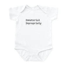 Unique Auditing Infant Bodysuit