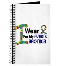 I Wear Puzzle Ribbon 21 (Brother) Journal