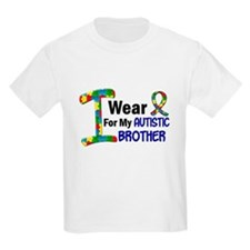 I Wear Puzzle Ribbon 21 (Brother) T-Shirt