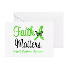 Lymphoma Faith Matters Greeting Card