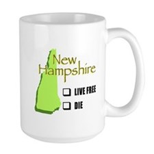 Live Free or Die New Hampshire Mug