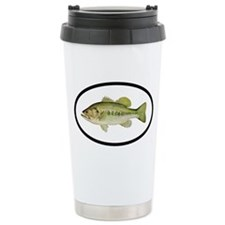 Largemouth Bass Fishing Ceramic Travel Mug