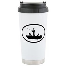 Fishing Ceramic Travel Mug