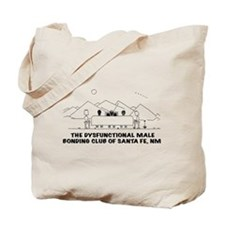 Dysfunctional Male Bonding Tote Bag