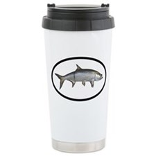 Tarpon Fishing Ceramic Travel Mug