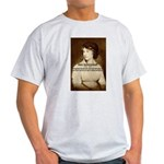 Mary Wollstonecraft Ash Grey T-Shirt