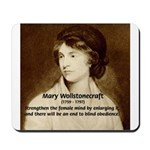 Mary Wollstonecraft Mousepad