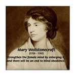 Mary Wollstonecraft Tile Coaster