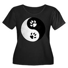Yin Yang Cat Paws T