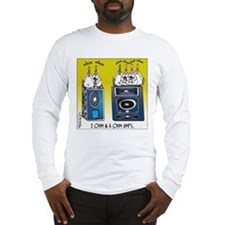 2 Ohm and 4 Ohm Amps Long Sleeve T-Shirt