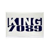 KING Rectangle Magnet