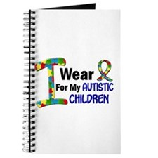 I Wear Puzzle Ribbon 21 (Children) Journal