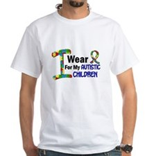 I Wear Puzzle Ribbon 21 (Children) Shirt