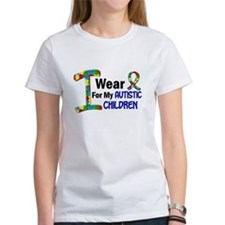 I Wear Puzzle Ribbon 21 (Children) Tee
