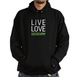 Live Love Geography Hoody