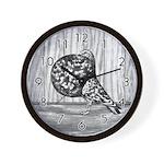 Gaditano Pouter Pigeon Wall Clock