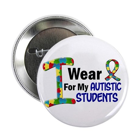I Wear Puzzle Ribbon 21 (Students) 2.25&amp;quot; Button