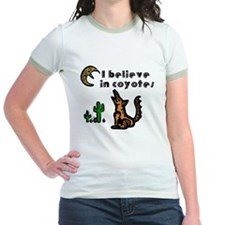 Believe in Coyotes Jr. Ringer T-Shirt