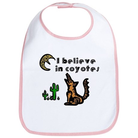 Believe in Coyotes Bib