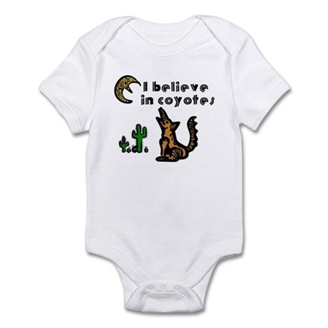 Believe in Coyotes Infant Bodysuit