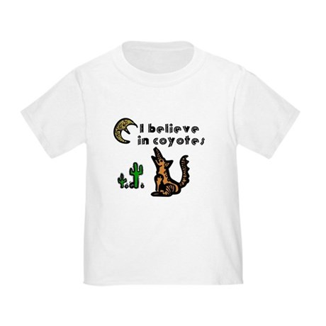 Believe in Coyotes Toddler T-Shirt