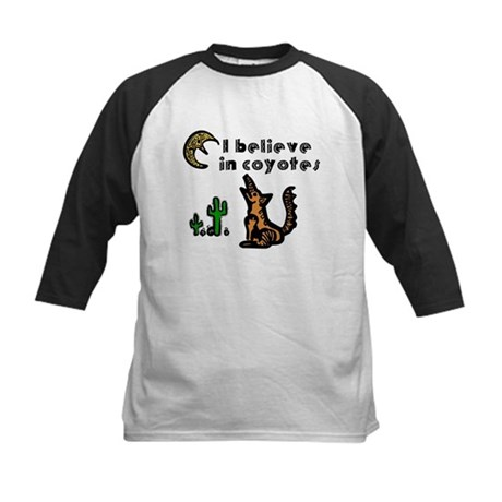 Believe in Coyotes Kids Baseball Jersey