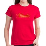 Women's Orange/Red Logo Tee