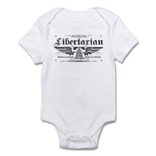Liberty Now Grey Infant Bodysuit