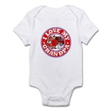 I Love my Grandpa (Fire) Infant Bodysuit
